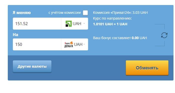 Яндекс.Денег в Украине